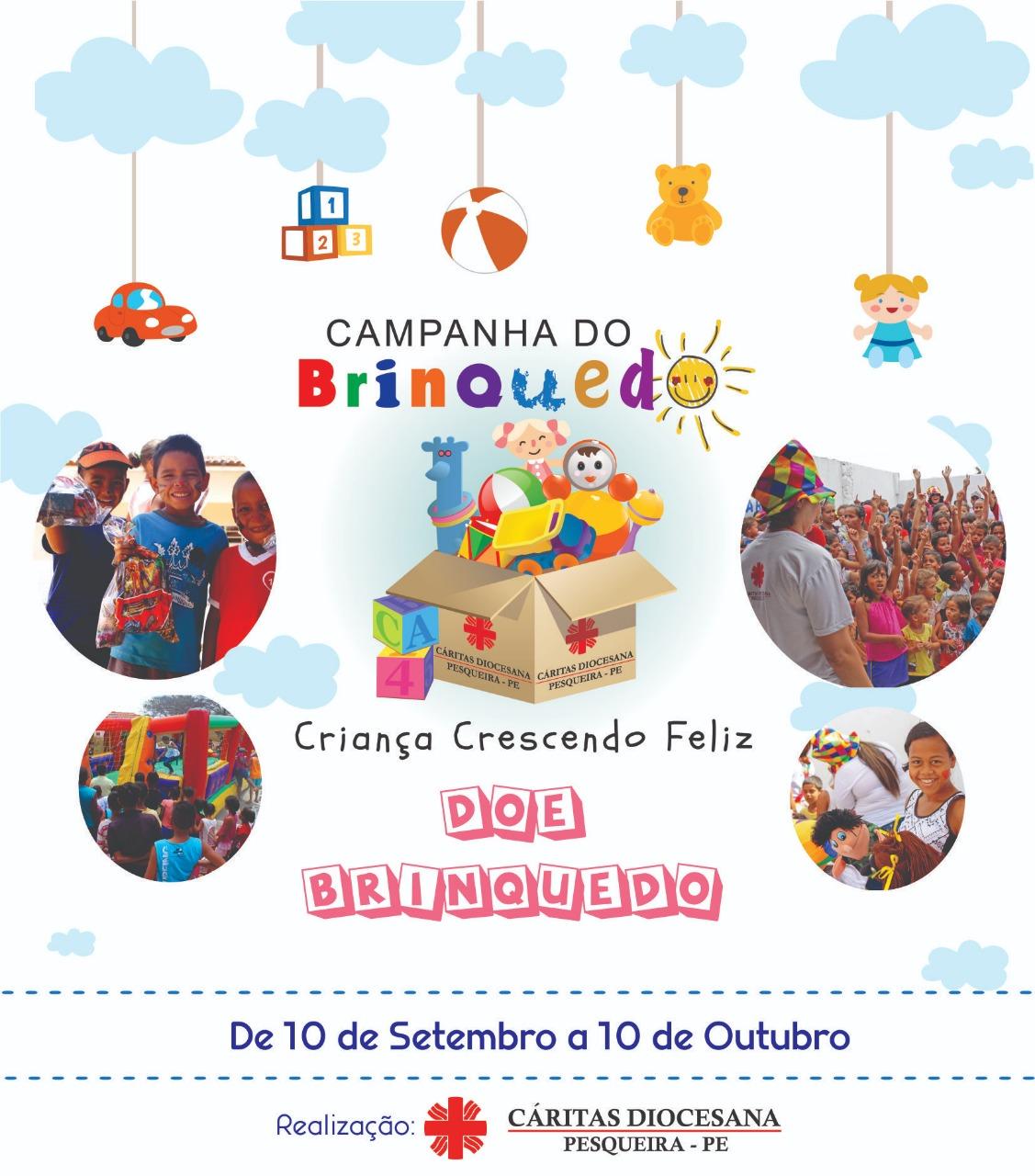 Campanha do Brinquedo Cáritas Diocesana de Pesqueira 2019